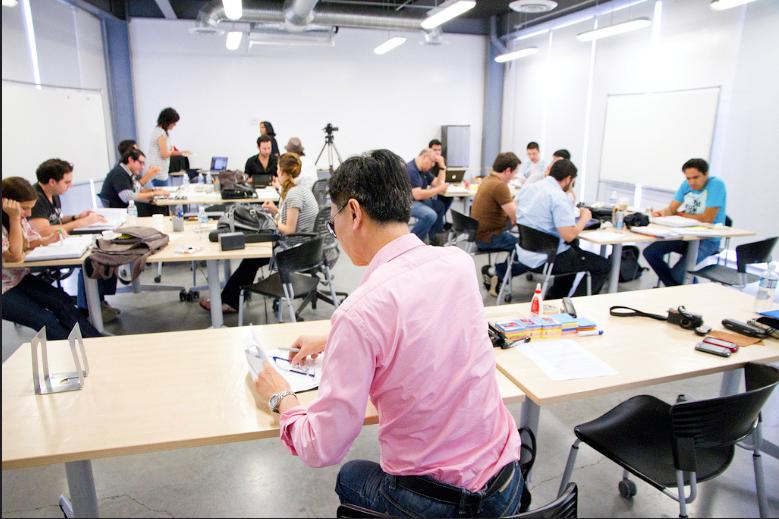 Cedim News, Semana de clases de maestria con Idris
