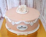 עוגה בסגנון וינטאז´ לכבוד שבת חתן.