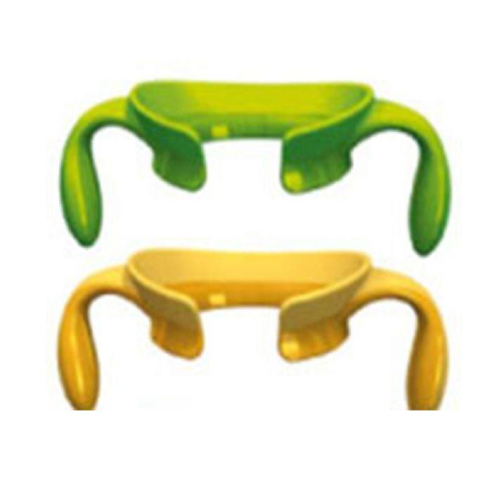 זוג ידיות לבקבוק סטפ אפ - Step Up | ירוק/כתום Green/ Orenge