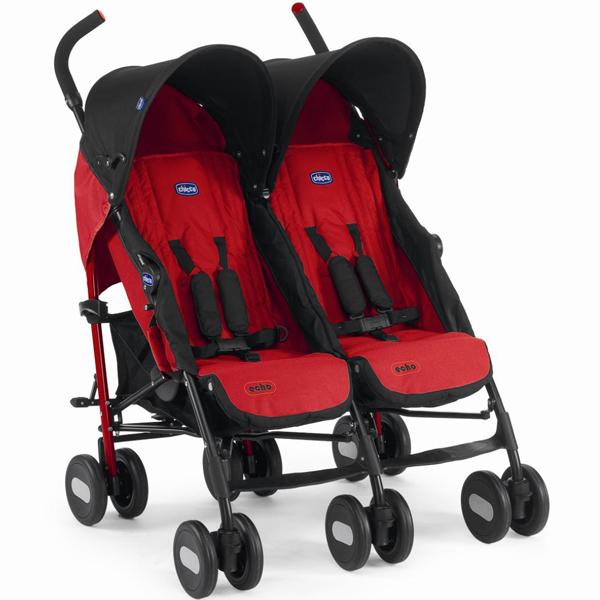 טיולון תאומים אקו - Echo Twin | אדום Garnet