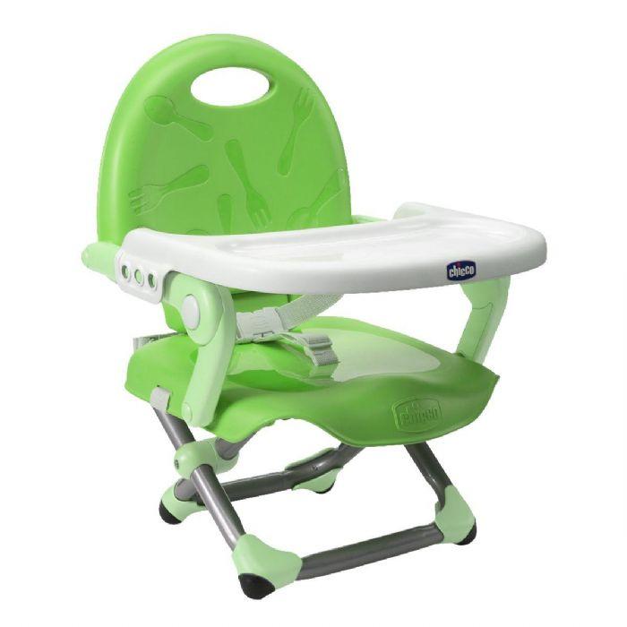 מושב הגבהה פוקט סנק - Pocket Snack | ירוק Green