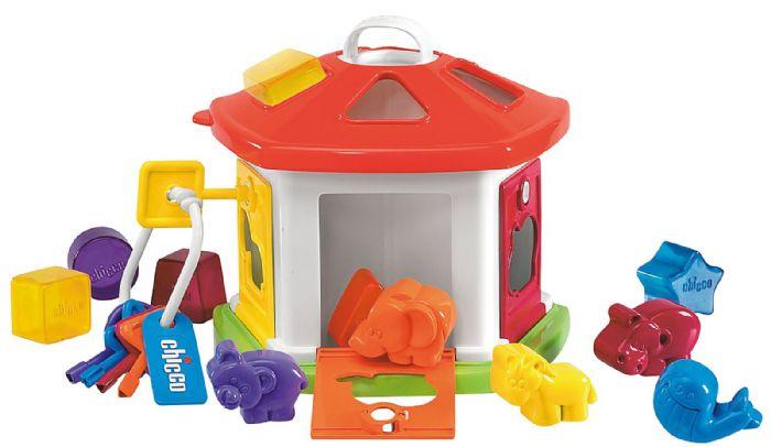 צעצוע בית מפתחות חיות  - Animal Cottage | צבעוני Colorful
