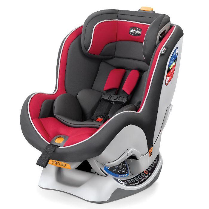 כיסא בטיחות נקסטפיט - NextFit | אדום/אפור Passion