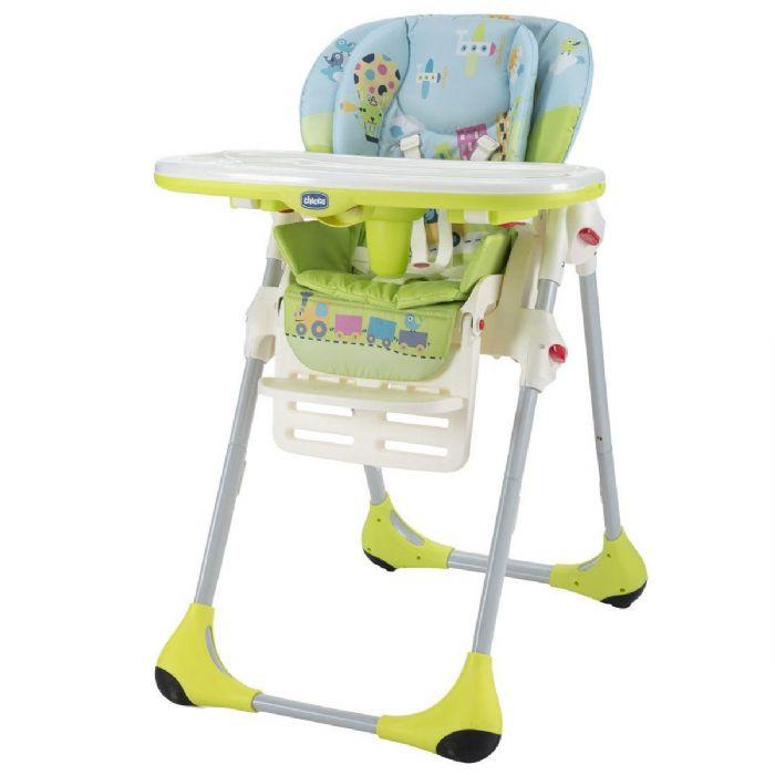 כסא אוכל פולי - Polly | ירוק Baby World