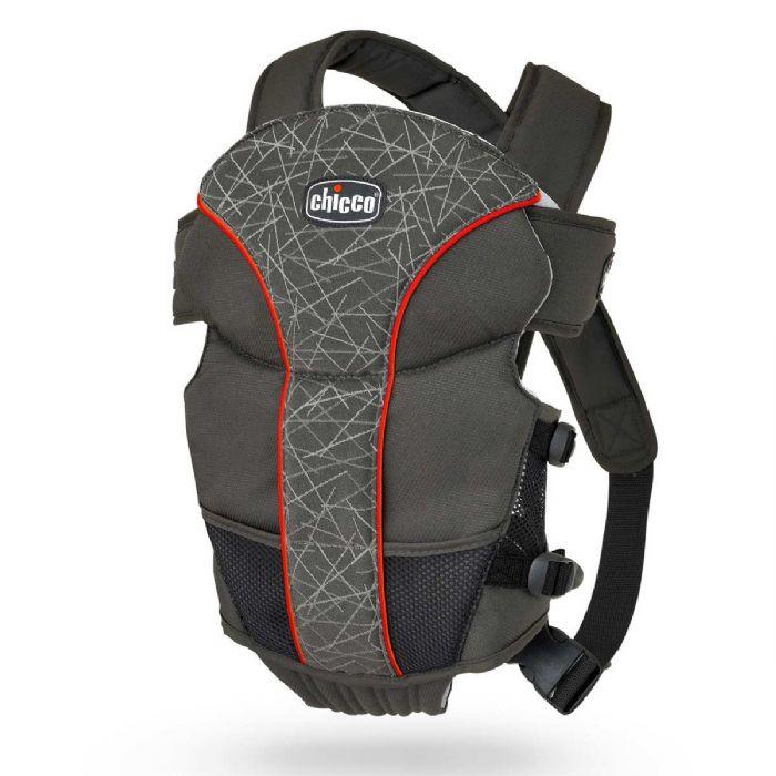 מנשא חזה אולטרסופט - Ultrasoft | שחור/פס אדום Stix