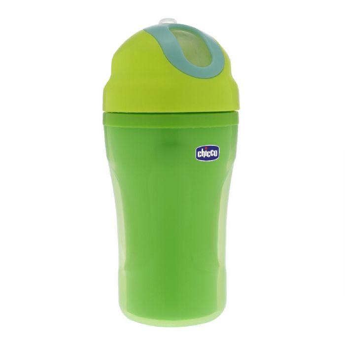 בקבוק אימון בעל פטמת סיליקון - Insulated Cup | ירוק Green