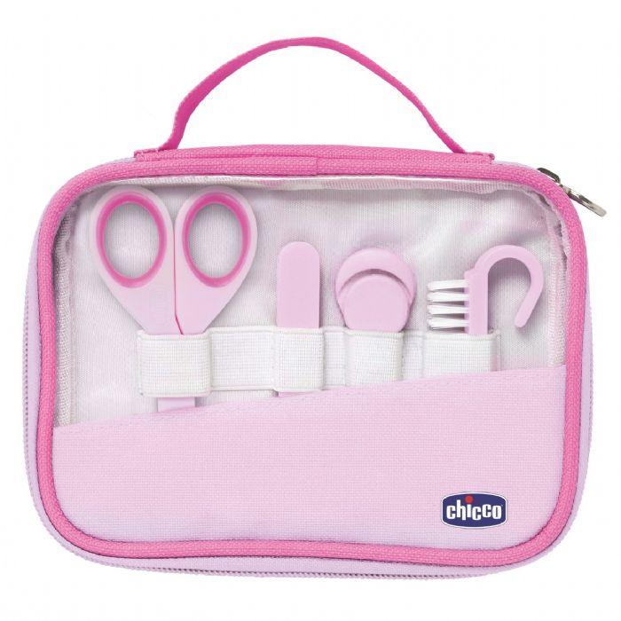 סט מניקור וטיפוח לתינוק - Nail Care Set | ורוד Pink