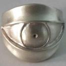 Evil Eye Ring Sterling Silver - Evil Eye Ring - Sterling Silver Eye Ring - Evil Eye Jewelry