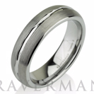 Domed Men's Tungsten Ring Mens Wedding Band Brushed Custom Tungsten Ring 6mm Tungsten Ring Man Wedding Band Tungsten Wedding Band Men