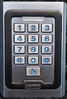 קודן כניסה מוגן מים ואנטי ונדלי עם כרטיסי קרבה MP16