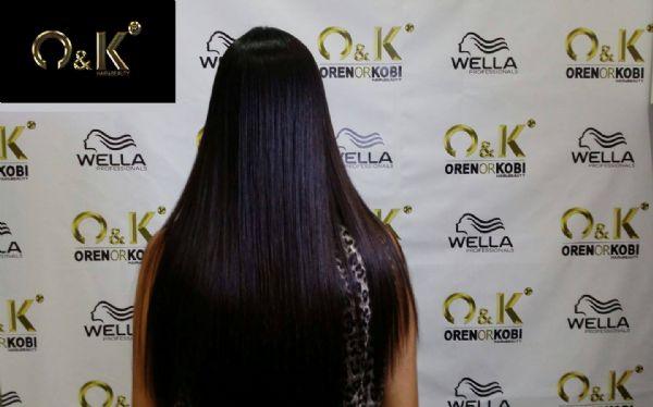 החלקה בשיער