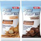 חטיף חלבון ,10 יחידות -  PURE PROTEIN CRUNCH