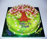 """ט""""ו בשבט - עוגת שקדיה לכיתה"""