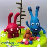 עוגת POPIZ - מערוץ בייבי - הדמויות מקרוב...