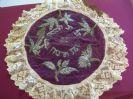 Antique Embroidered Matzah Cover