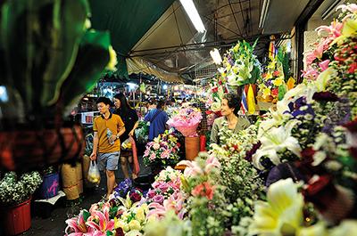 שוק הפרחים | Pak Khlong Talat