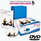 קוביית ספוג קשיחה ליוגה/פילאטיס + תקליטור אימון והדרכה DVD