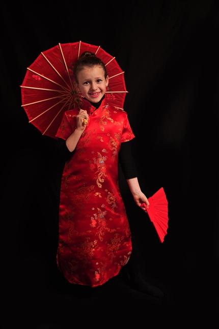 תחפושת של סינית/יפנית