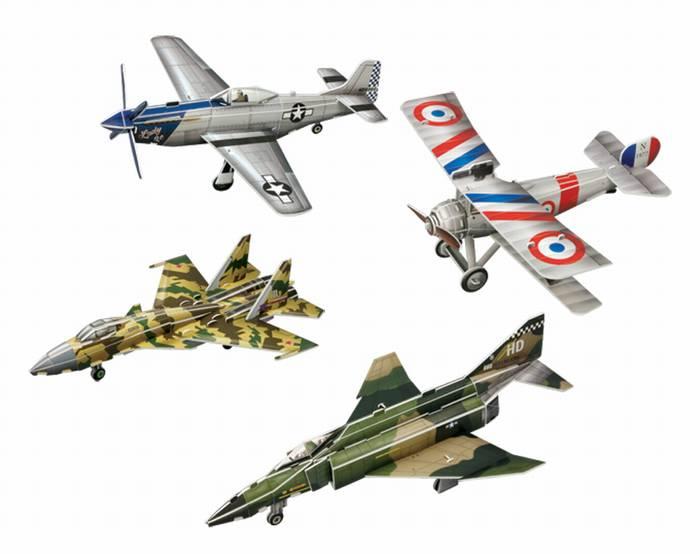 פאזל תלת מימד -סדרת מטוסים