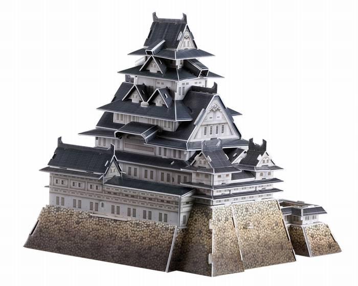 פאזל תלת מימד -טירת הימג'י - ביפן