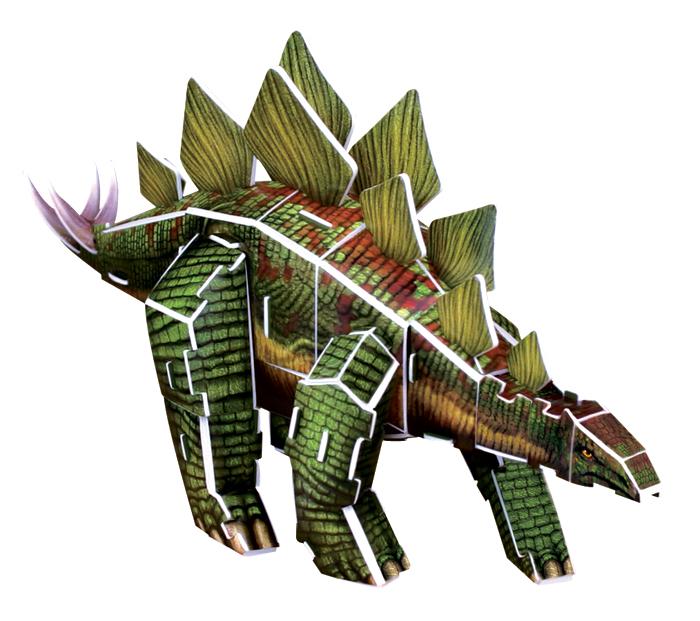 פאזל תלת מימד -דינוזאור - סטגוזאורוס