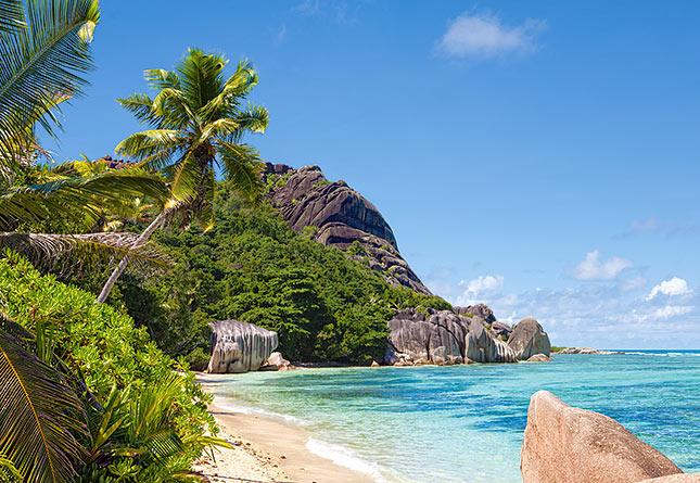 פאזל 3000 חלקים -חוף טרופי באיי סיישל