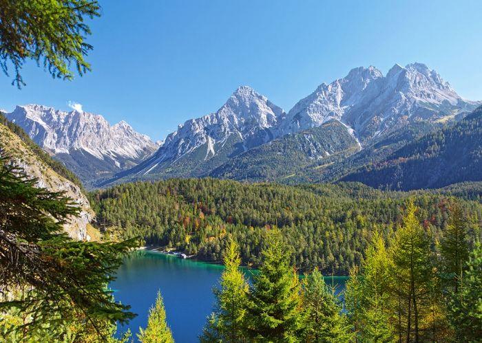 פאזל 3000 חלקים - אגם באלפים