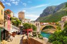 פאזל 1500 חלקים - העיר הישנה של מוסטר