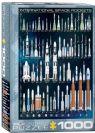פאזל 1000 חלקים - טילי חלל בינלאומיים