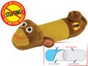 צעצוע קוף מצפצף לכלב -קטן