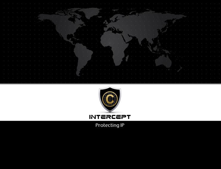 עיצוב מצגת פאוור פוינט בתחום האבטחה - INTERCEPT