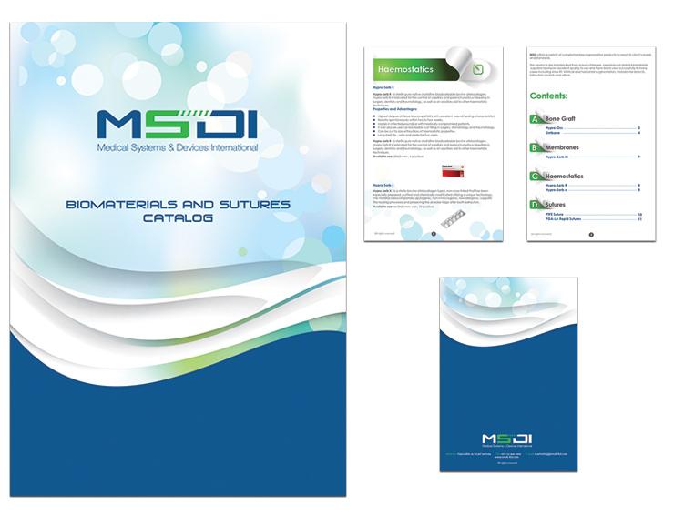 עיצוב פרוספקט רפואי - MSDI