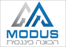 עיצוב לוגו להכוונה פיננסית - MODUS