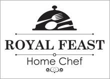 ROYAL FEAST - עיצוב לוגו לשף פרטי