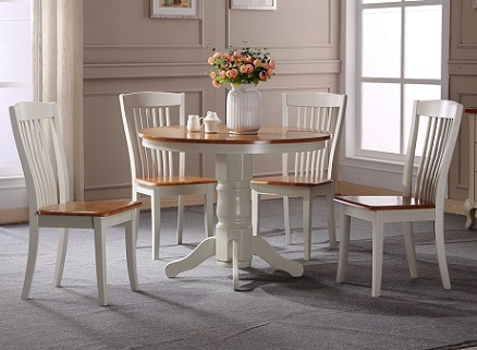 כסא לפינת אוכל מעץ מלא - HC09
