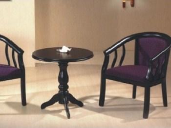 כורסא מעוצבת דגם 9801 ו שולחן H06