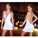 שמלה סקסית מושלמת לבנה