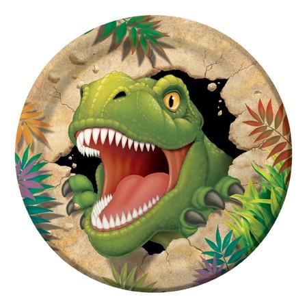 צלחות דינוזאורים גדולות