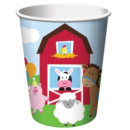 כוסות חוות החיות