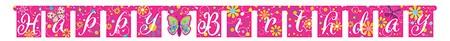 כרזת יום הולדת שמח אפקט הפרפר