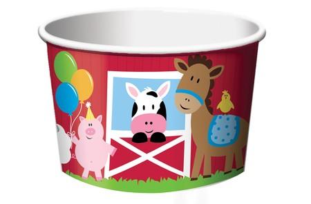 כוסות לממתקים חוות החיות