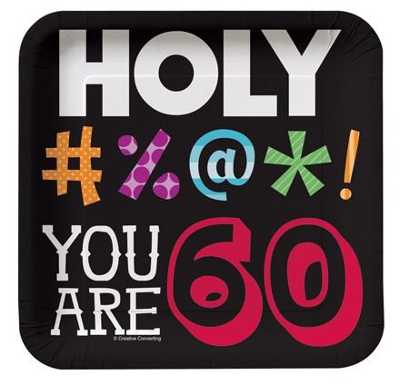 צלחות קטנות Holy Bleep - גיל 60