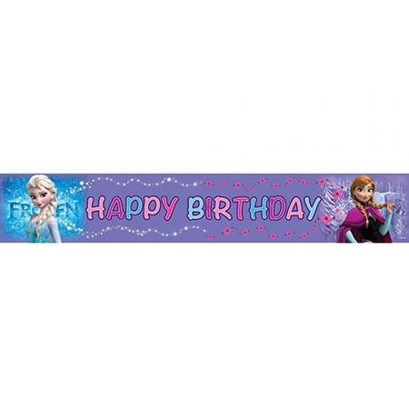כרזת יום הולדת שמח פרוזן