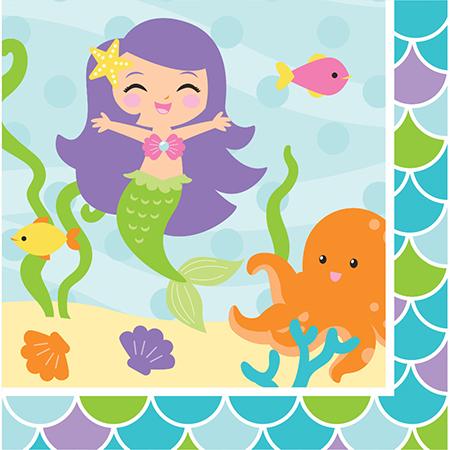 מפיות גדולות בת הים הקטנה