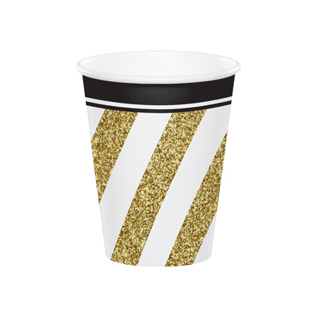 כוסות Black & Gold