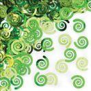 קונפטי ספירלה - ירוק