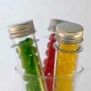 מבחנות פלסטיק לממתקים