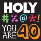 מפיות גדולות Holy Bleep - גיל 40