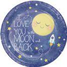 צלחות גדולות עד הירח וחזרה