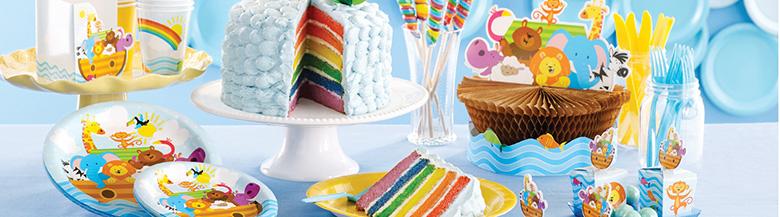 יום הולדת תיבת נוח | כלים חד פעמיים תיבת נוח